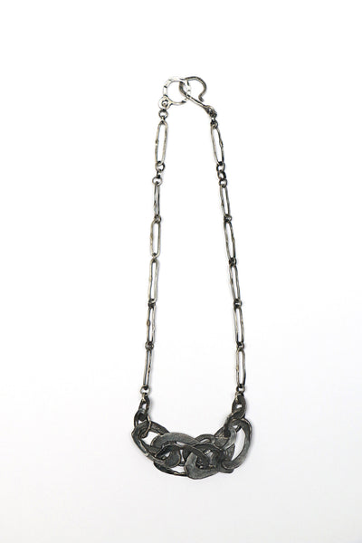 Melted Ovals Chain Necklace