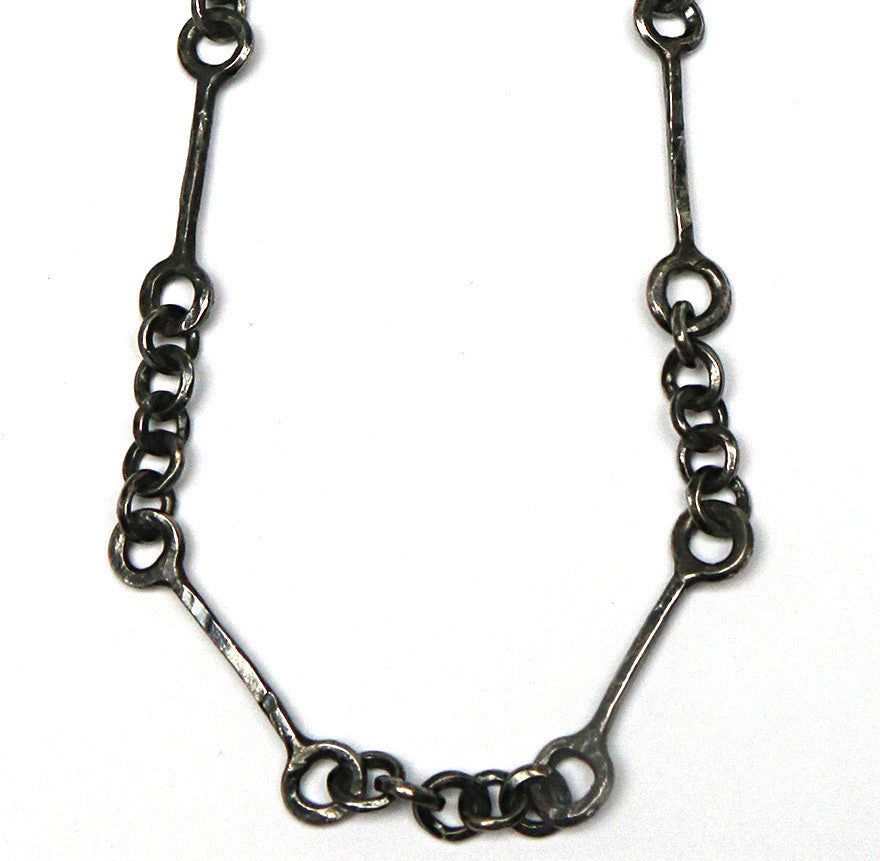 Large Silver Railroad Chain