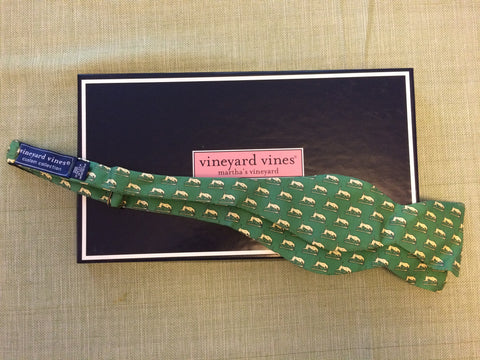 Vineyard Vines Bow Tie - Yellow or Green