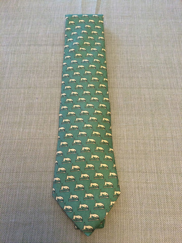 Vineyard Vines Neck Tie - Yellow or Green