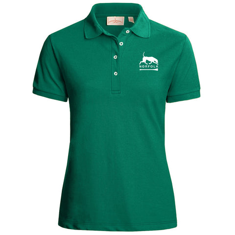 Ladies' Polo - White or Green