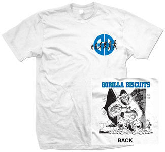 "Gorilla Biscuits ""City EP Cover"" T Shirt"