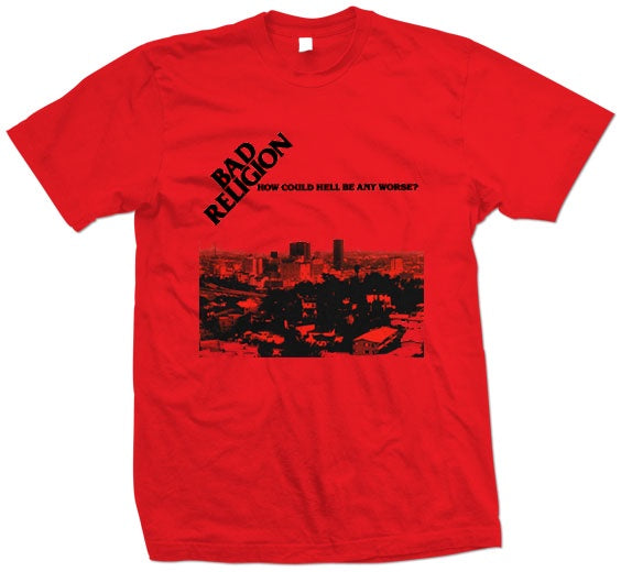 "Bad Religion ""How Could Hell"" T Shirt"