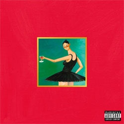 "Kanye West ""My Beautiful Dark Twisted Fantasy"" 3xLP"