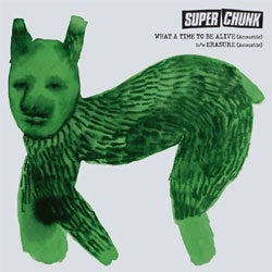 "Superchunk ""What A Time To Be Alive (Acoustic)"" 7"""