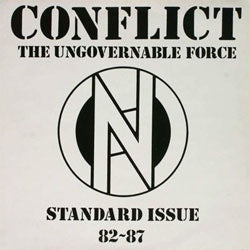 "Conflict ""Standard Issue 82-87"" LP"
