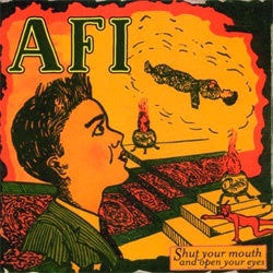 "AFI ""Shut Your Mouth And Open Your Eyes"" CD"