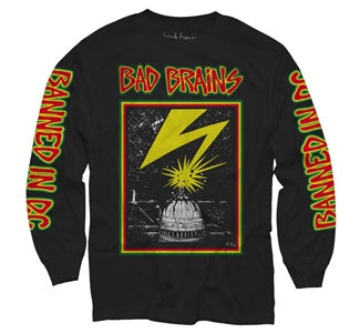 "Bad Brains ""Capitol"" Long Sleeve T Shirt"