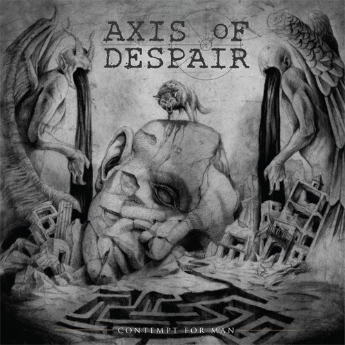 "Axis Of Despair ""Contempt For Man"" LP"