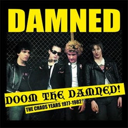 "The Damned ""Doom The Damned; The Chaos Years 1977 - 1982"" LP"
