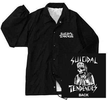 "Suicidal Tendencies ""Flipskull"" Windbreaker"