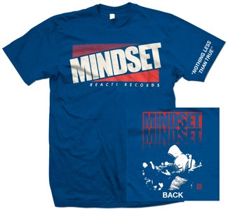 "Mindset ""Nothing Less Than True"" Blue T Shirt"