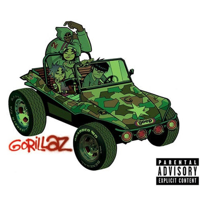 "Gorillaz ""Self Titled"" 2xLP"