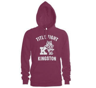 "Title Fight ""Varsity"" Hooded Sweatshirt"