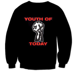 "Youth Of Today ""Positive Outlook"" Crew Neck Sweatshirt"