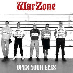 "Warzone ""Open Your Eyes"" CD"