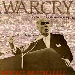 "Warcry ""Maniacs On Pedestals"" LP"