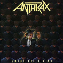 "Anthrax ""Among The Living"" LP"