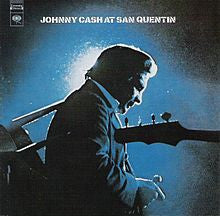 "Johnny Cash ""At San Quentin"" LP"