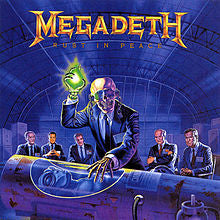 "Megadeth ""Rust In Peace"" LP"