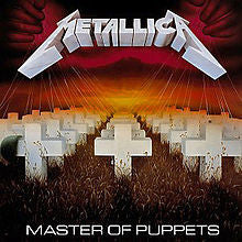 "Metallica ""Master Of Puppets"" LP"