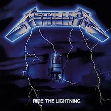 "Metallica ""Ride The Lightning"" LP"