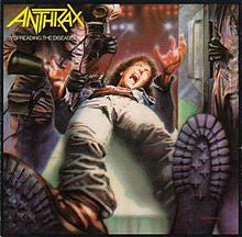 "Anthrax ""Spreading The Disease"" LP"