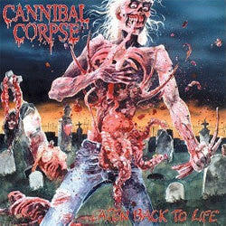 "Cannibal Corpse ""Eaten Back To Life"" LP"