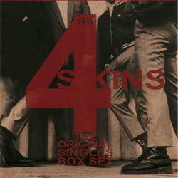 "4 Skins ""The Original Singles"" 7"" Box Set"
