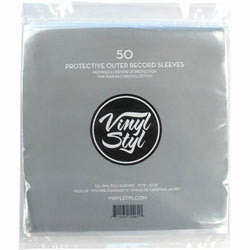 "Vinyl Styl ""50 12"" LP Protective Outer Record Sleeves"""