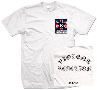 "Violent Reaction ""Union Jack"" T Shirt"