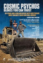 "Cosmic Psychos ""Blokes You Can Trust"" DVD"
