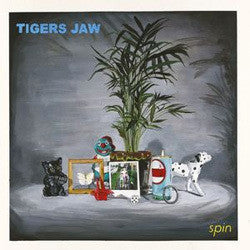 "Tigers Jaw ""Spin"" CD"