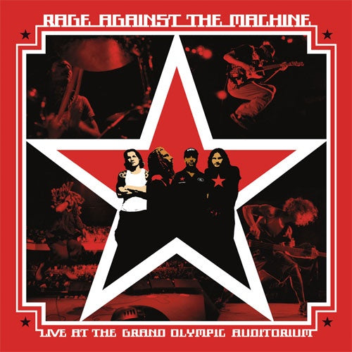 "Rage Against The Machine ""Live At The Grand Olympic Auditorium"" 2xLP"