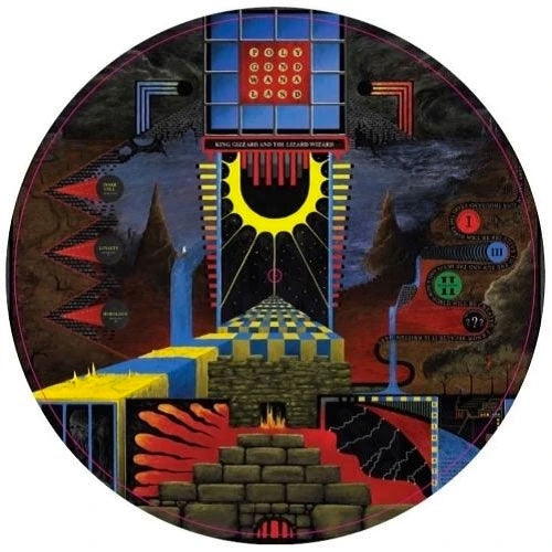 "King Gizzard & The Lizard Wizard ""Polygondwanaland"" Picture Disc LP"