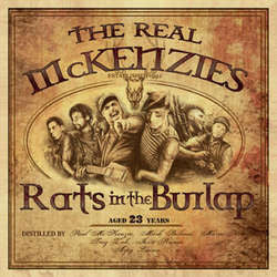 "The Real McKenzies ""Rats In The Burlap"" CD"