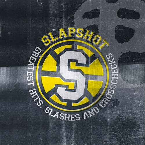 "Slapshot ""Greatest Hits, Slashes & Crosschecks"" LP"