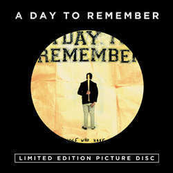 "A Day To Remember ""For Those Who Have Heart"" Pic LP"