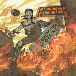 "Pisser ""Breaking Chains"" LP"