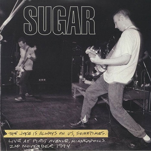 "Sugar ""Joke Is Always On Us"" 2xLP"