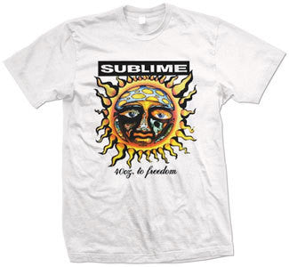 "Sublime ""40oz. To Freedom"" T Shirt"