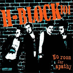 "H-Block 101 ""No Room For Apathy"" LP"