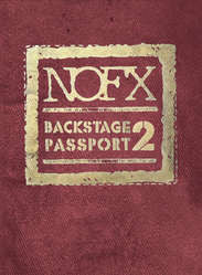 "NOFX ""Backstage Passport 2"" DVD"