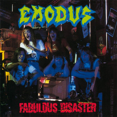 "Exodus ""Fabulous Disaster"" LP"
