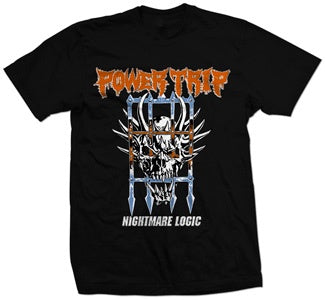 "Power Trip ""Nightmare Logic"" T Shirt"