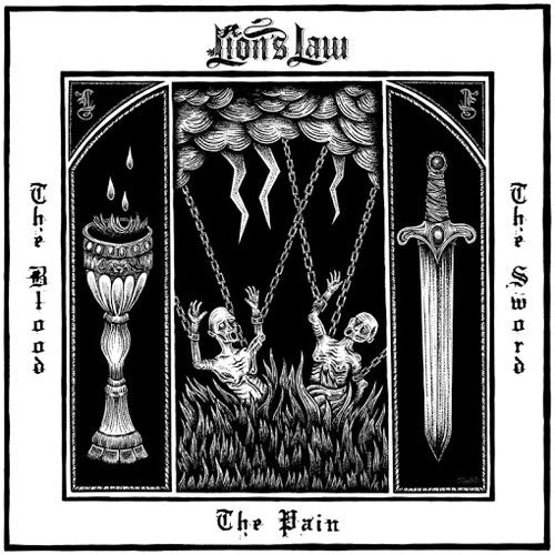 "Lion's Law ""The Pain, The Blood, And The Sword"" CD"