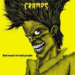 "The Cramps ""Bad Music For Bad People"" CD"