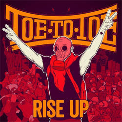 "Toe To Toe ""Rise Up"" CD"