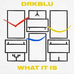 "DRK BLU ""What It Is"" 7"""