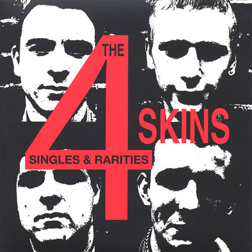 "4 Skins ""Singles and Rarities"" LP"